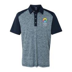adidas® Heather Block Sport Shirt