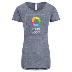 B&C™ Denim Women's Editing Short Sleeve T-Shirt