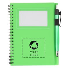 The Star Spiral Notebook With Pen-Stylus