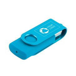 Rotate 2-Tone Flash Drive 4GB