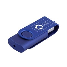 Rotate 2-Tone Flash Drive 2GB