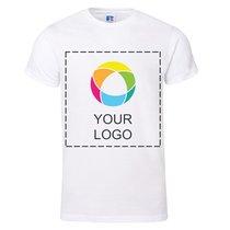 Russell™ 100% ringgesponnen katoen Premium T-shirt met Korte Mouwen