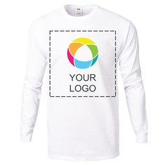 Fruit of the Loom® Color Overlay 5-Ounce Heavy Cotton HD™ Long-Sleeve T-Shirt