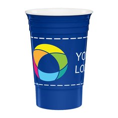 16 oz Reusable Run Stadium Cup Full Color Inkjet