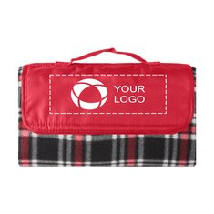 Fleece Plaid Picnic Blanket