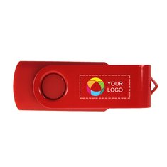 Rotate USB with Lacquered Clip - 4Gb