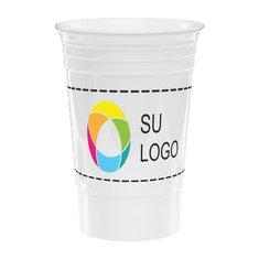 Vaso tipo estadio con impresión inkjet a todo color - 16 oz
