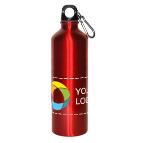 28 oz. Botella deportiva de aluminio