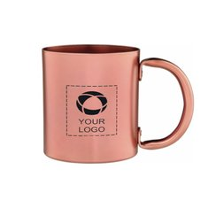 Copper 14oz Retro Mug Copper