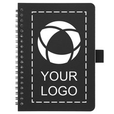 Spiral Notebook with Antimicrobial Additive