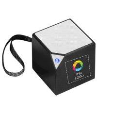 Bluetooth®-Lautsprecher mit eingebautem Mikrofon Sonic von Bullet™ mit Vollfarbdruck