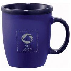Cafe Au Lait Laser Engraved Ceramic Mug – 12 oz.