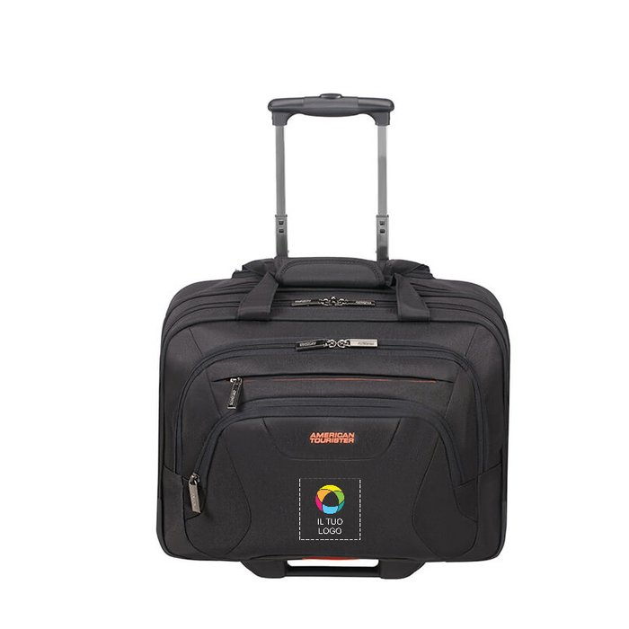 Borsa con le ruote AT Work American Tourister® da 15,6''