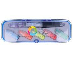 Rotulador fluorescente intercambiable Comuto con impresión a todo color