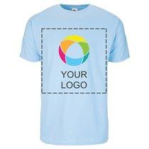 Fruit of the Loom® T-shirt med print til herrer i 100 % bomuld