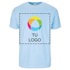 Camiseta de manga corta Fruit of the Loom® de 100 % algodón con estampado en tinta