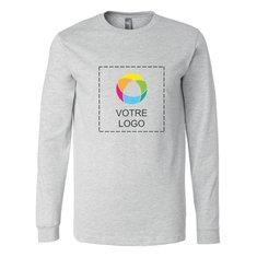 T-shirt jersey manches longues Bella+Canvas