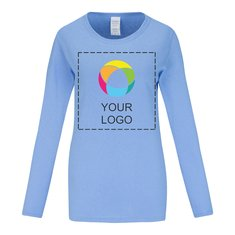 Gildan® Heavy Cotton™ Women's Long Sleeve T-Shirt