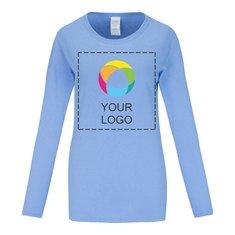 Gildan® Heavy Cotton™ Women's Long Sleeve T-Shirt