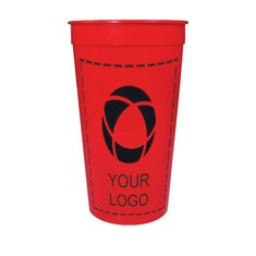 HumphreyLine Solid 32oz Stadium Cup