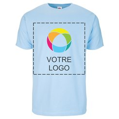T-shirt à manches courtes 100 % coton imprimé à l'encre Fruit of the Loom®