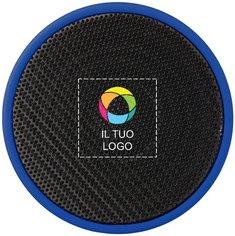 Altoparlante cilindrico Bluetooth con stampa a colori Rubber Bullet™