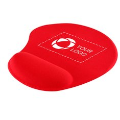 Solid Jersey Gel Mouse Pad With Wrist Rest