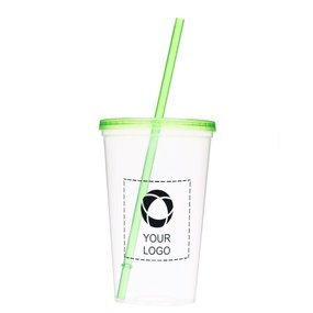 Glacier 20-Ounce Tumbler With Straw