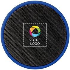 Haut-parleur cylindrique en caoutchouc de Bullet™ imprimé en couleur