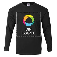 Fruit of the Loom® 100% Cotton Men's Long-Sleeve T-Shirt