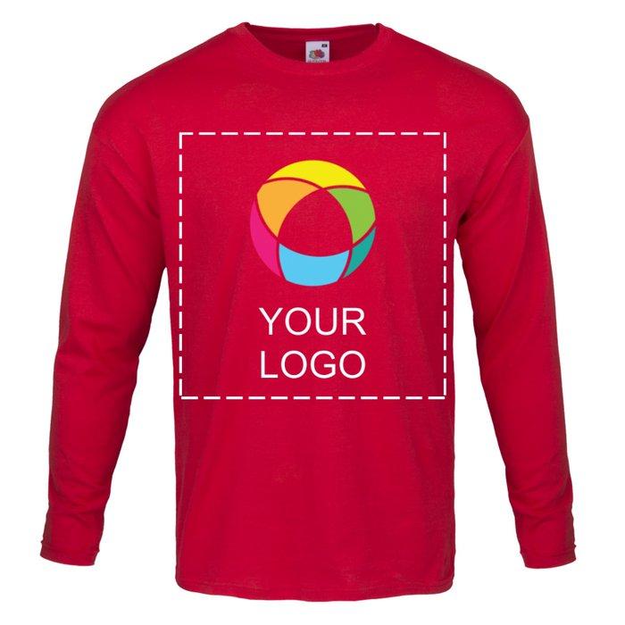 Fruit of the Loom® 100% Cotton Men's Long-Sleeve T-Shirt