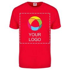 Fruit of the Loom® Colour Overlay 100% Cotton Men's Short-Sleeve T-Shirt