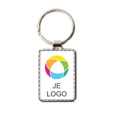Promotique™ sleutelhanger met metalen ring full-colour