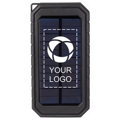 High Sierra® Boar Solar Fast Wireless Power Bank