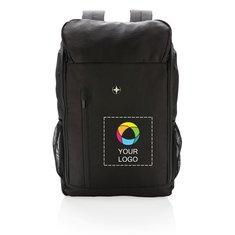 """Swiss Peak® RFID Easy Access 15"""" Laptop Backpack PVC Free"""