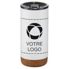 Verre isotherme isolation cuivre base en liège Valhalla 473 ml