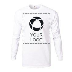 Fruit of the Loom® Color Overlay 5-Ounce Heavy Cotton HD™ Long-Sleeve T-Shirt