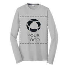 Sport-Tek® Long Sleeve PosiCharge® Competitor Cotton Touch Tee Screenprint