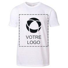 T-shirt à col rond en coton léger pour homme AnvilMD