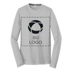 Camiseta de manga larga PosiCharge® Competitor Cotton Touch para impresión por serigrafía de Sport-Tek®