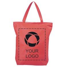 Bullet™ Privy zippered Short Handle Non-Woven Tote Bag