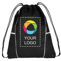 Diamond Drawstring Cinch Backpack