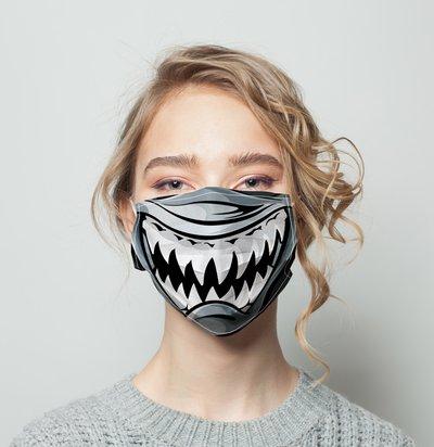 Facemask 25 Template Customization