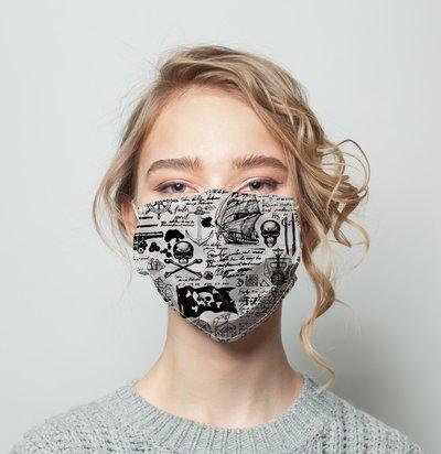 Facemask 58 Template Customization