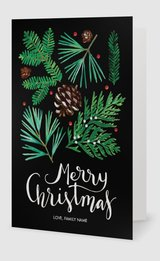 Affordable holiday cards custom holiday cards vistaprint 5 x 7 folded reheart Image collections