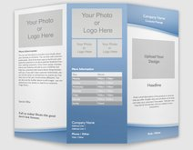 Affordable Brochures Custom Brochures Vistaprint - 85 x 11 brochure template