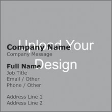 Square business cards square business cards designs custom square upload it reheart