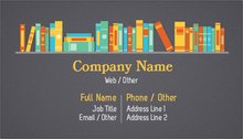 Personalized standard business cards designs tutoring training upload it colourmoves Choice Image
