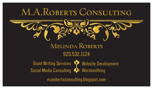 M.A.Roberts Consulting