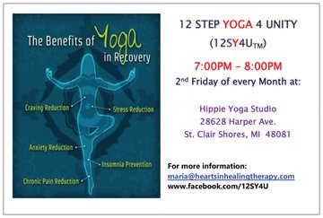 12 Step Yoga 4 Unity (12SY4U)